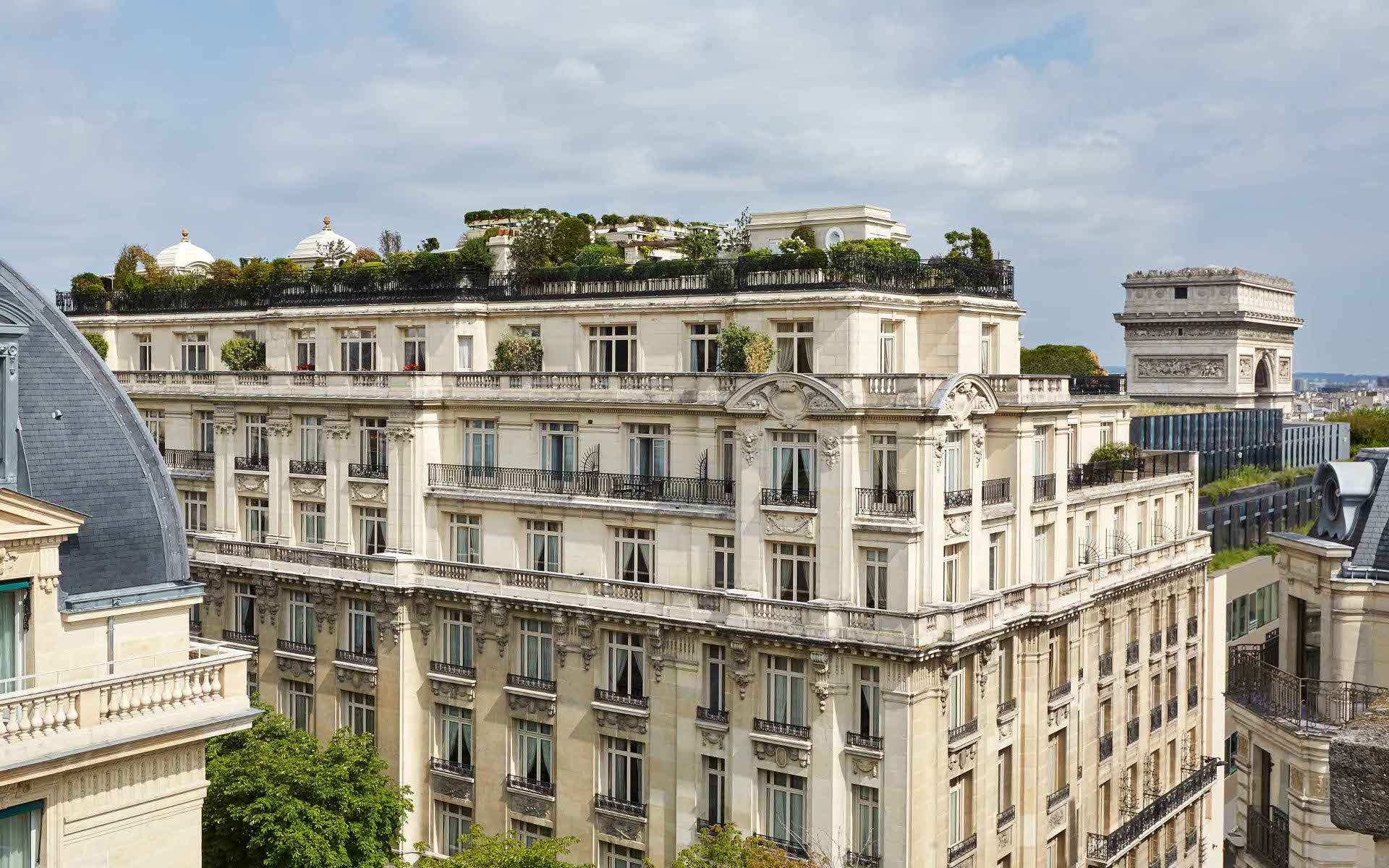 hotels in champs elysees paris