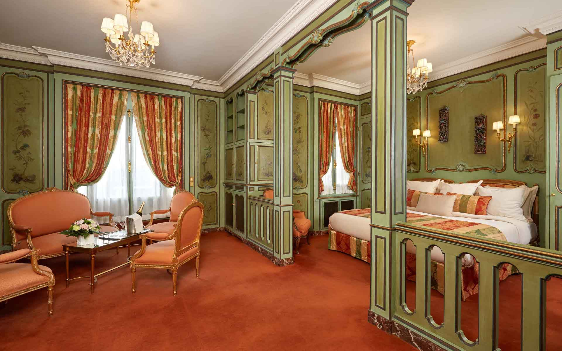 Hotel Raphael Paris Junior suite deluxe tour eiffel